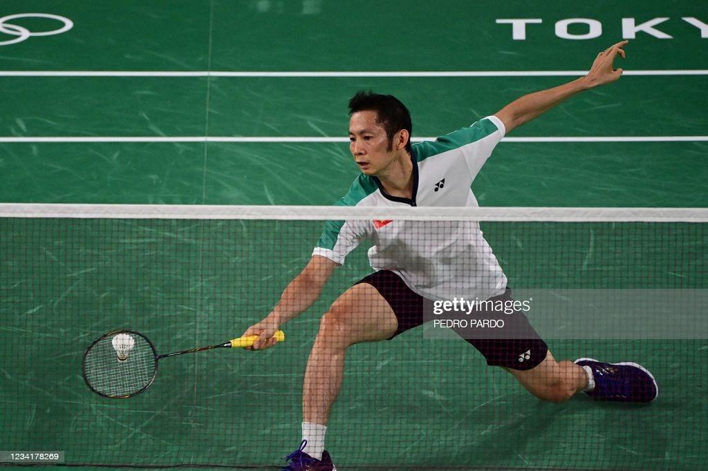 Olympic Tokyo 2020: Tiến Minh thua chóng vánh tay vợt kém mình 14 tuổi - Ảnh 1.