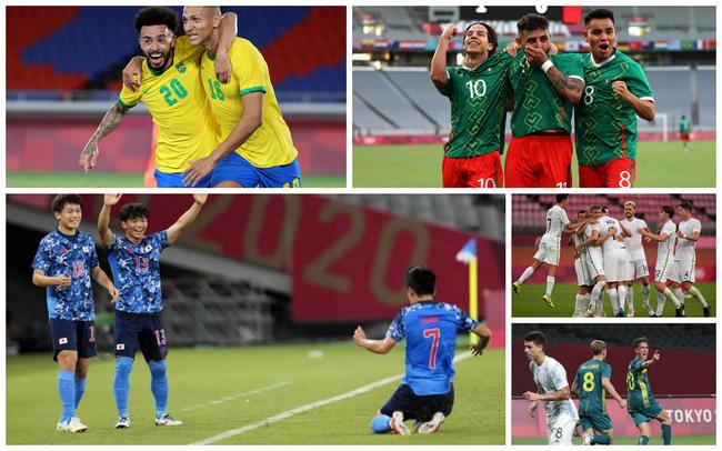 Lịch thi đấu và phát sóng trực tiếp bóng đá nam Olympic 2020 ngày 25/7 - Ảnh 1.