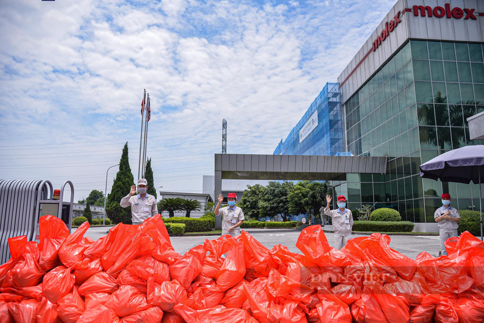"""Cận cảnh """"Xe buýt siêu thị 0 đồng"""" đầu tiên phục vụ CNLĐ khu công nghiệp Hà Nội - Ảnh 12."""