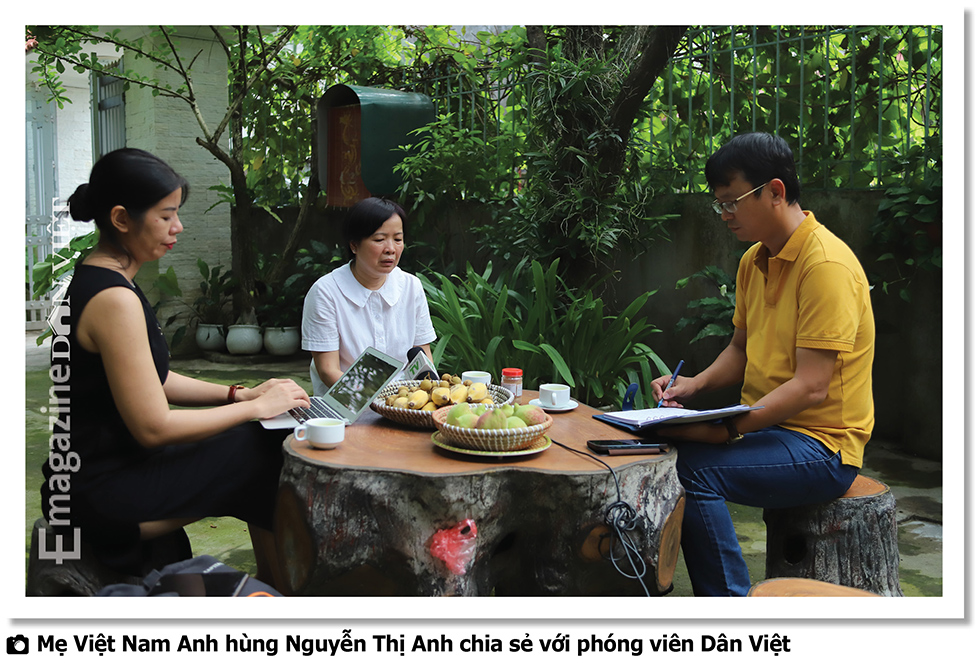 """Bà mẹ Việt Nam Anh hùng trẻ nhất nước Nguyễn Thị Anh: """"Nỗi đau mất con thời nào cũng thế"""" - Ảnh 2."""
