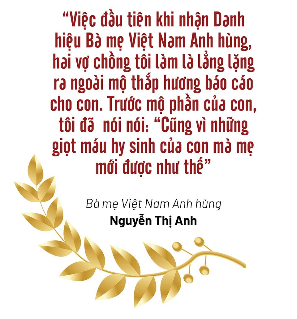 """Bà mẹ Việt Nam Anh hùng trẻ nhất nước Nguyễn Thị Anh: """"Nỗi đau mất con thời nào cũng thế"""" - Ảnh 5."""