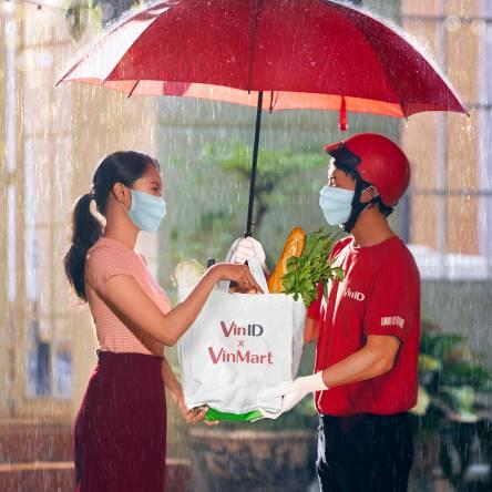Đi chợ online VinMart trên VinID, an toàn giữa tâm dịch - Ảnh 1.