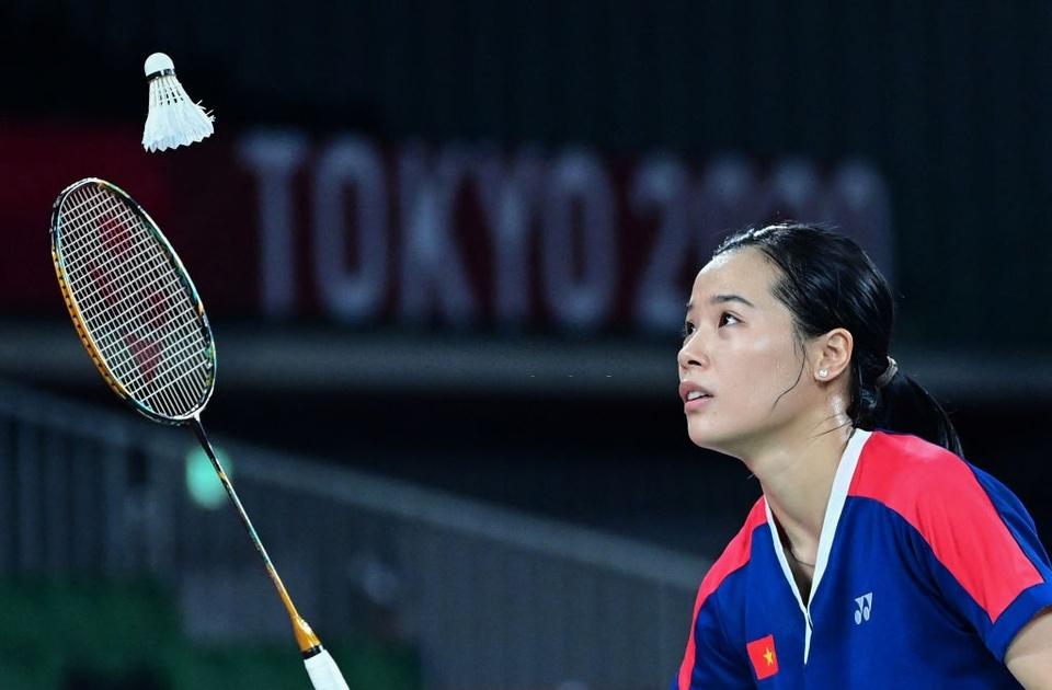 Ảnh: Hotgirl cầu lông Thùy Linh thắng 2 trận tại Olympic và chỉ để thua tay vợt số 1 thế giới - Ảnh 1.