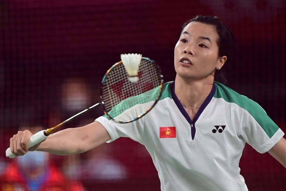 Ảnh: Hotgirl cầu lông Thùy Linh thắng 2 trận tại Olympic và chỉ để thua tay vợt số 1 thế giới - Ảnh 2.