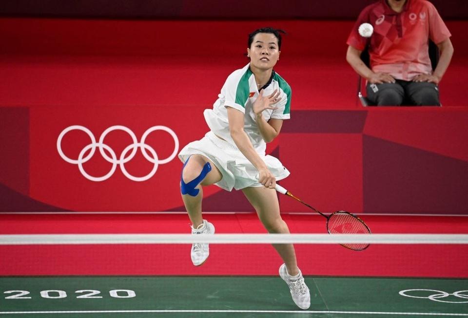 Ảnh: Hotgirl cầu lông Thùy Linh thắng 2 trận tại Olympic và chỉ để thua tay vợt số 1 thế giới - Ảnh 3.