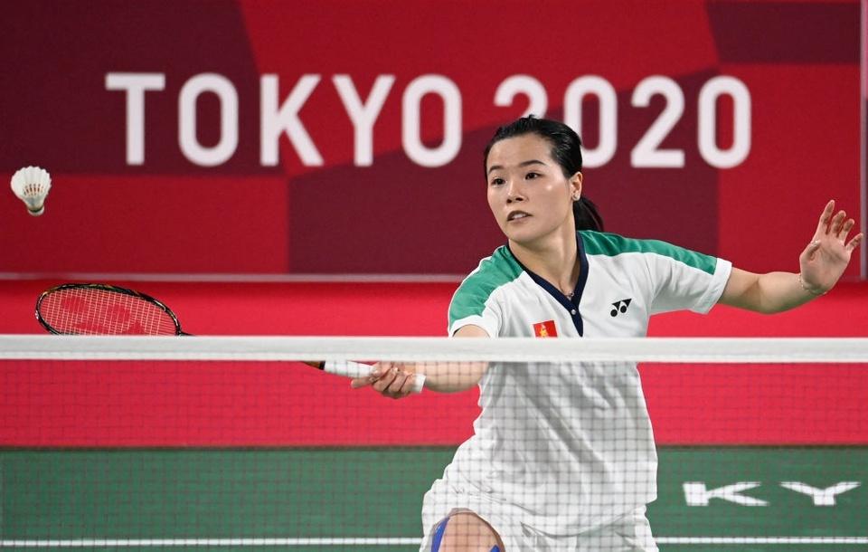 Ảnh: Hotgirl cầu lông Thùy Linh thắng 2 trận tại Olympic và chỉ để thua tay vợt số 1 thế giới - Ảnh 4.