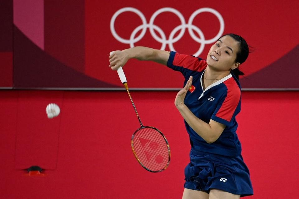 Ảnh: Hotgirl cầu lông Thùy Linh thắng 2 trận tại Olympic và chỉ để thua tay vợt số 1 thế giới - Ảnh 5.