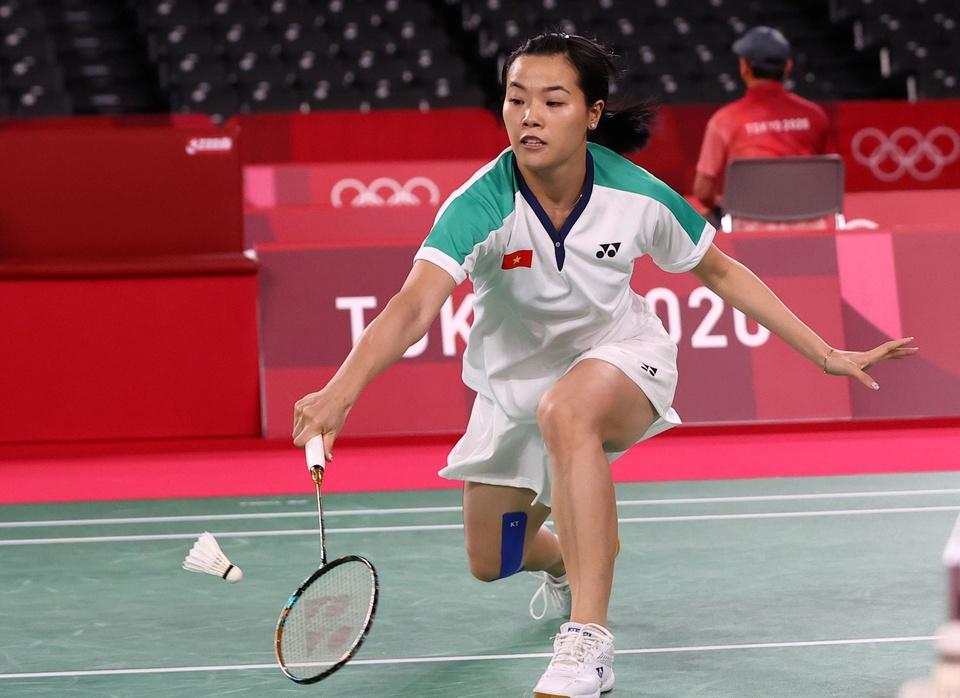 Ảnh: Hotgirl cầu lông Thùy Linh thắng 2 trận tại Olympic và chỉ để thua tay vợt số 1 thế giới - Ảnh 7.