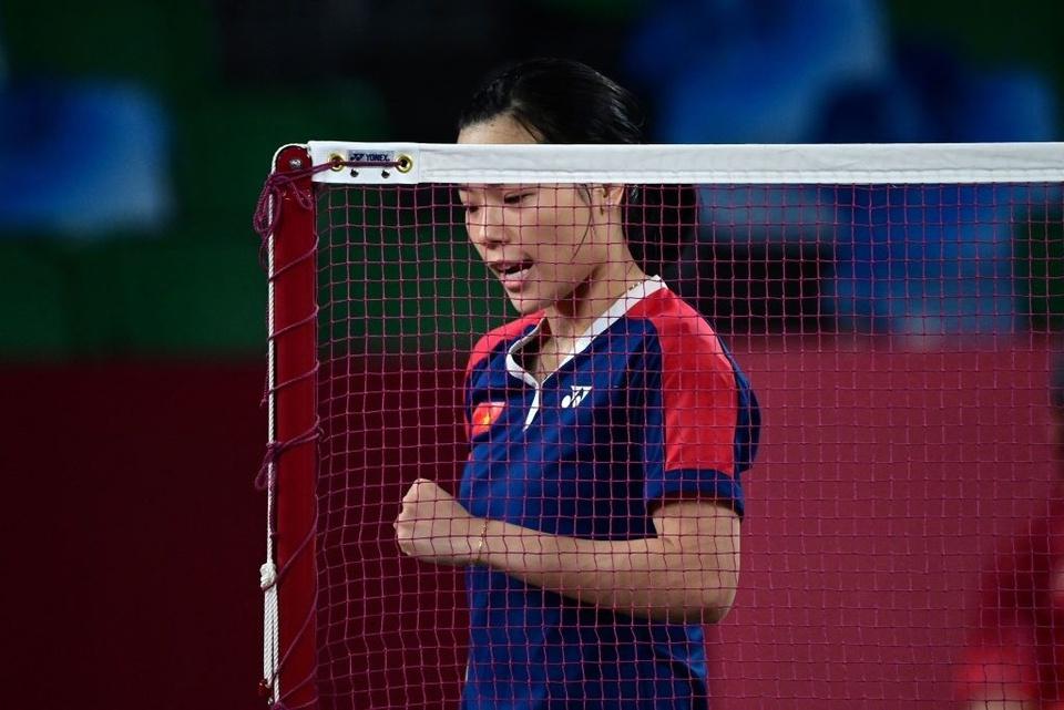 Ảnh: Hotgirl cầu lông Thùy Linh thắng 2 trận tại Olympic và chỉ để thua tay vợt số 1 thế giới - Ảnh 8.