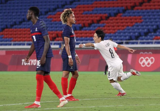Kết quả bóng đá nam Olympic Tokyo 2020: Thua tan nát Nhật Bản, Pháp bị loại - Ảnh 1.