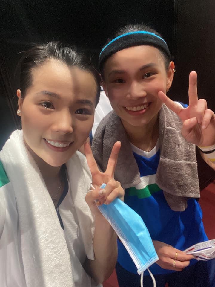 Hoa khôi Nguyễn Thùy Linh thắng dễ tay vợt 3 lần dự Olympic - Ảnh 1.