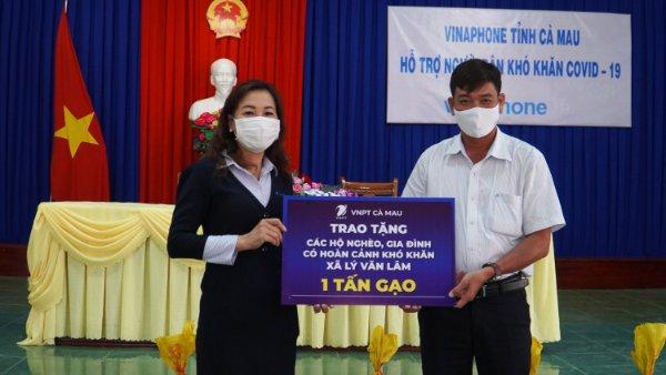 VNPT Cà Mau chung tay chống dịch Covid-19   - Ảnh 1.