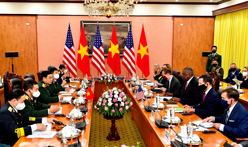 Bộ trưởng Quốc phòng Mỹ thông báo hỗ trợ Việt Nam trang thiết bị phòng chống Covid-19 - Ảnh 3.
