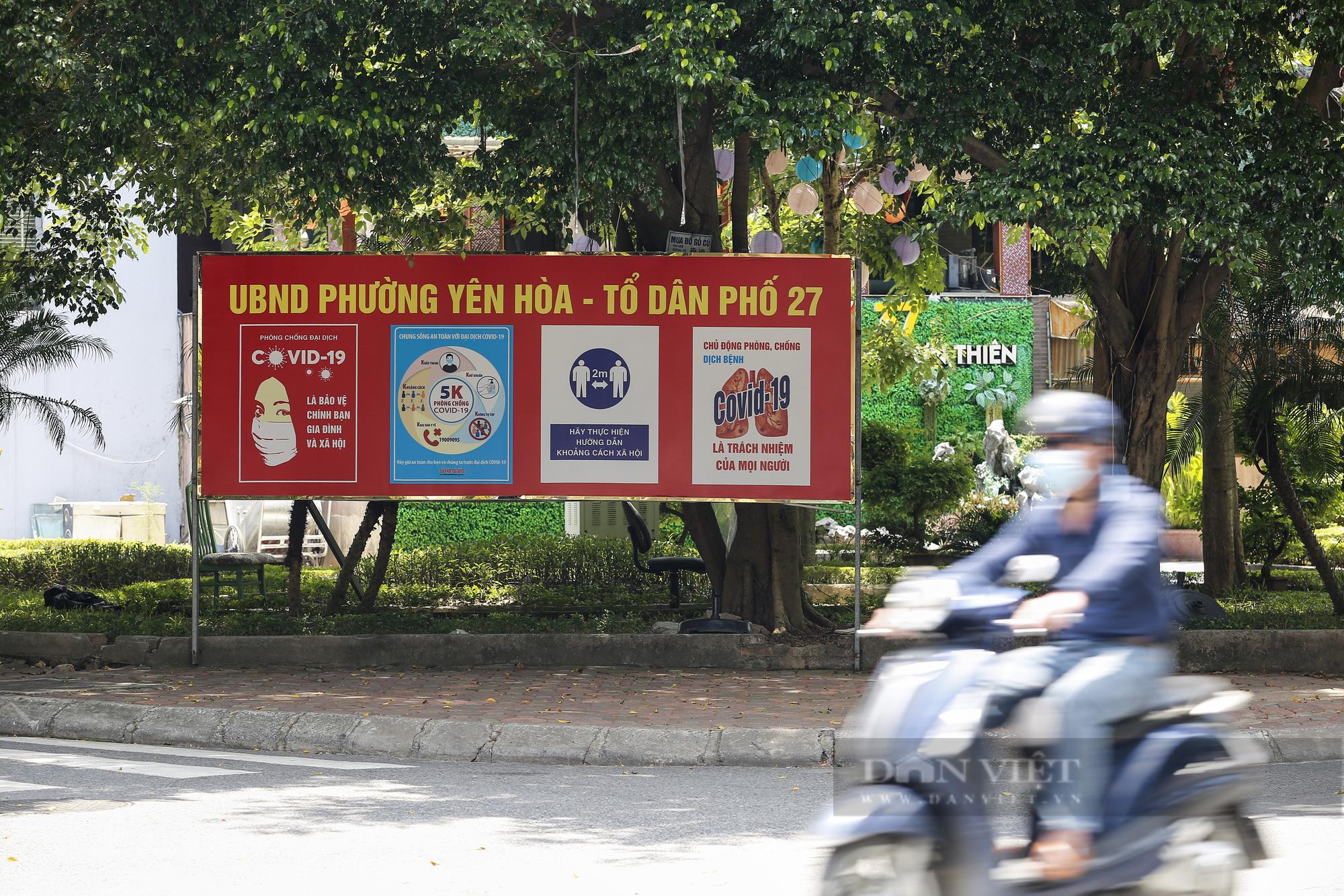 Đường phố Hà Nội xuất hiện những thông điệp tiếp thêm sức mạnh trong công tác phòng, chống Covid-19  - Ảnh 7.