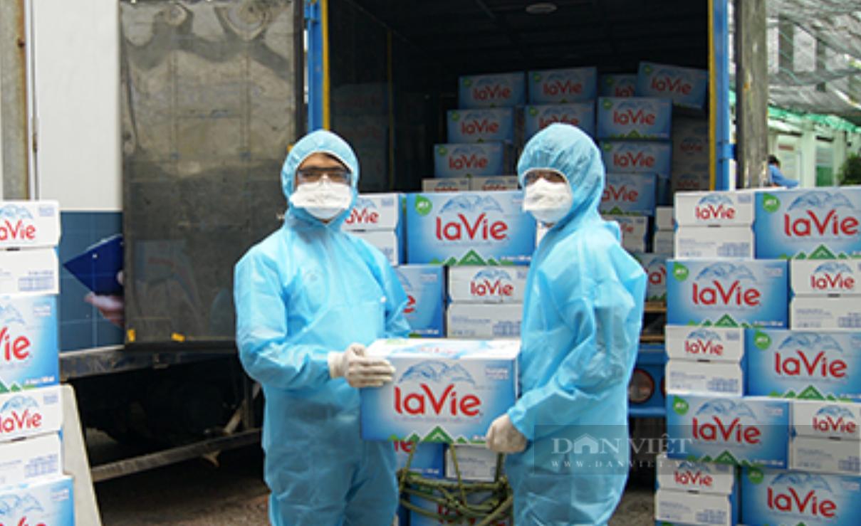 Bắc Giang cùng doanh nghiệp tặng cả trăm tấn nhu yếu phẩm, hàng hóa thiết yếu cho Đồng Nai - Ảnh 4.