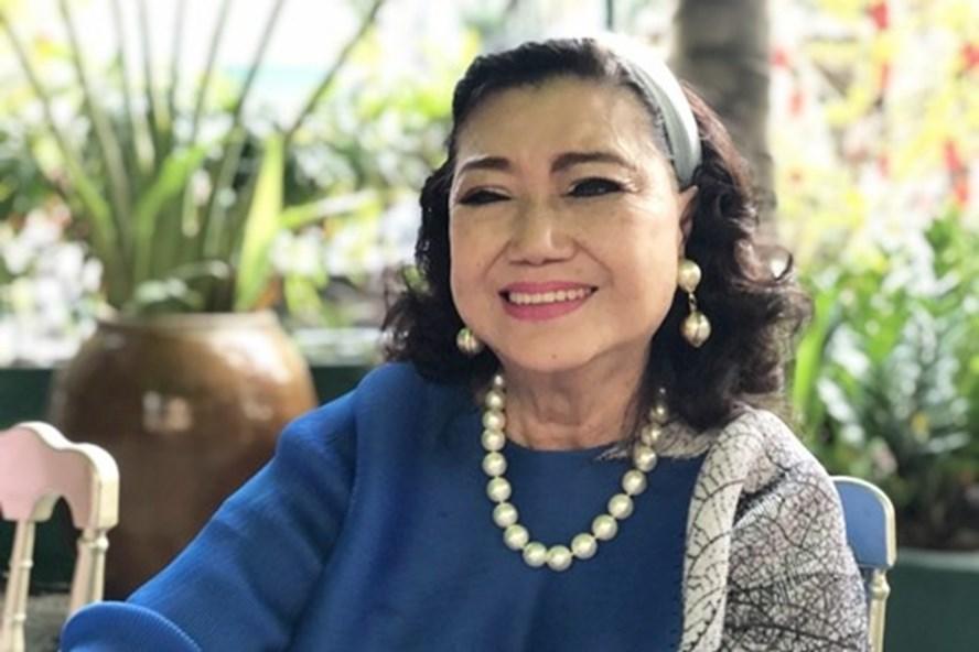 """Cuộc sống hiện tại của """"kỳ nữ cải lương"""" NSND Kim Cương giữa thời điểm dịch - Ảnh 1."""