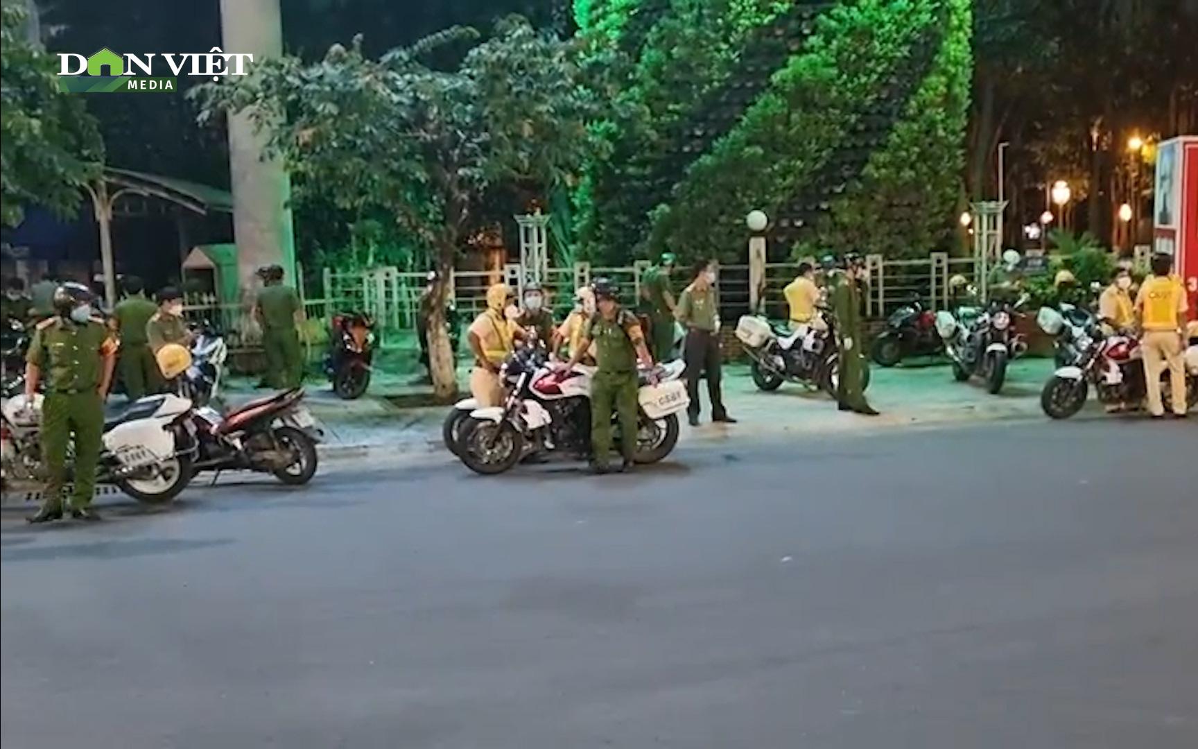 Đồng Nai: Đồng loạt ra quân kiểm tra người ra đường sau 18 giờ