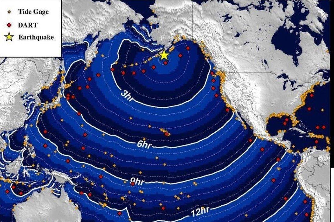 Nóng: Cảnh báo sóng thần sau trận động đất 8,2 độ Richter ngoài khơi Alaska - Ảnh 1.