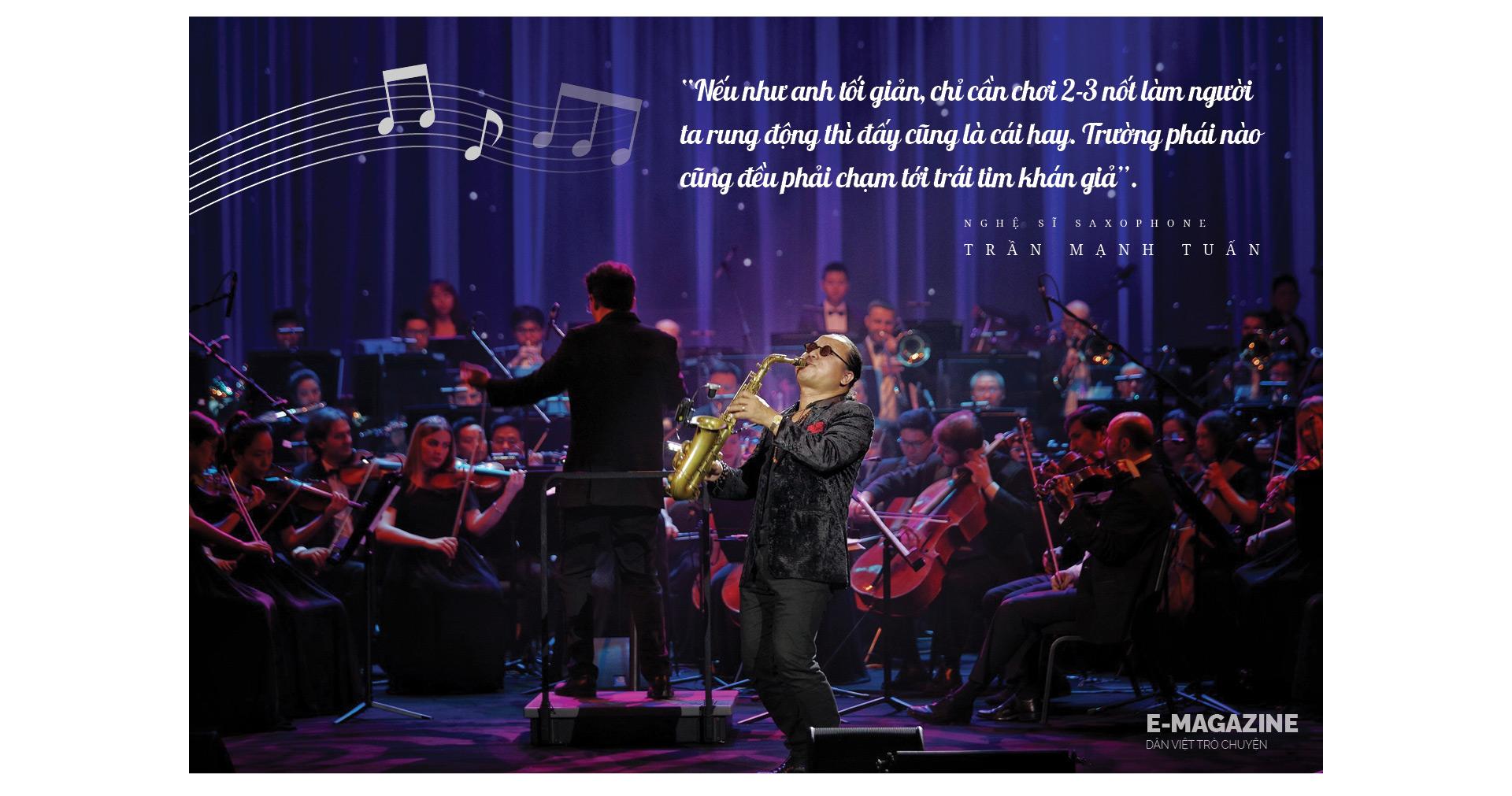 """Nghệ sĩ saxophone Trần Mạnh Tuấn: """"Diễn giữa không gian bệnh viện dã chiến là điều đặc biệt nhất trong đời"""" - Ảnh 9."""