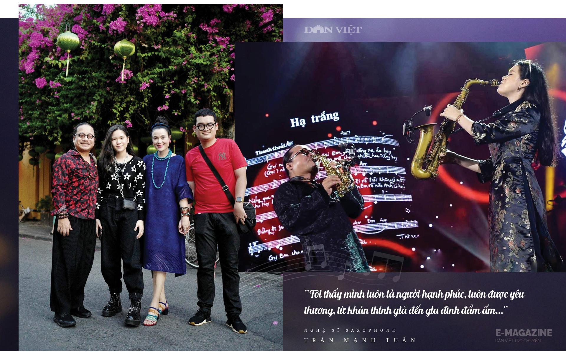 """Nghệ sĩ saxophone Trần Mạnh Tuấn: """"Diễn giữa không gian bệnh viện dã chiến là điều đặc biệt nhất trong đời"""" - Ảnh 16."""