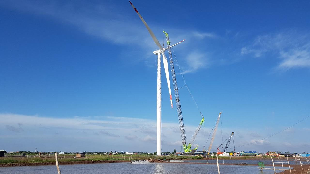 Nhà máy điện gió Kosy Bạc Liêu: Tăng tốc về đích, đảm bảo phòng chống dịch Covid-19 - Ảnh 1.