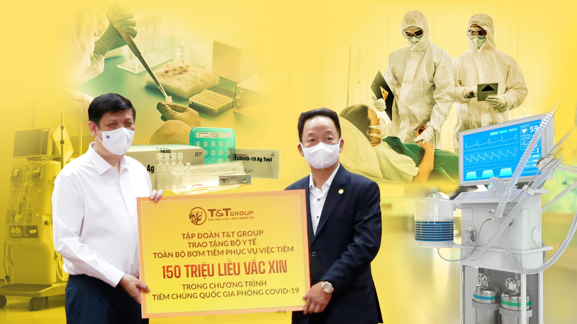 T&T Group tài trợ 20 tỷ đồng mua trang thiết bị y tế giúp một số địa phương phòng, chống dịch COVID-19 - Ảnh 1.
