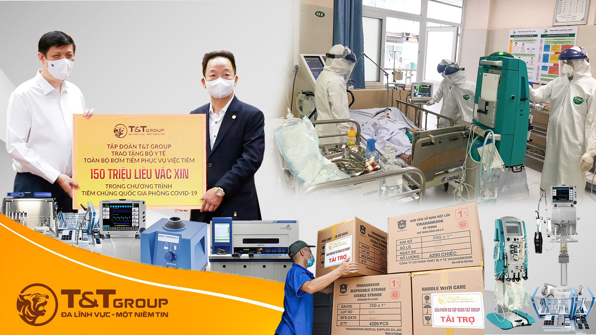 T&T Group tài trợ 20 tỷ đồng mua trang thiết bị y tế giúp một số địa phương phòng, chống dịch COVID-19 - Ảnh 4.
