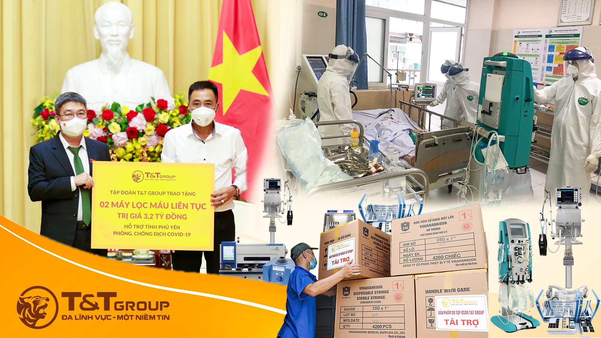 T&T Group tài trợ 20 tỷ đồng mua trang thiết bị y tế giúp một số địa phương phòng, chống dịch COVID-19 - Ảnh 2.