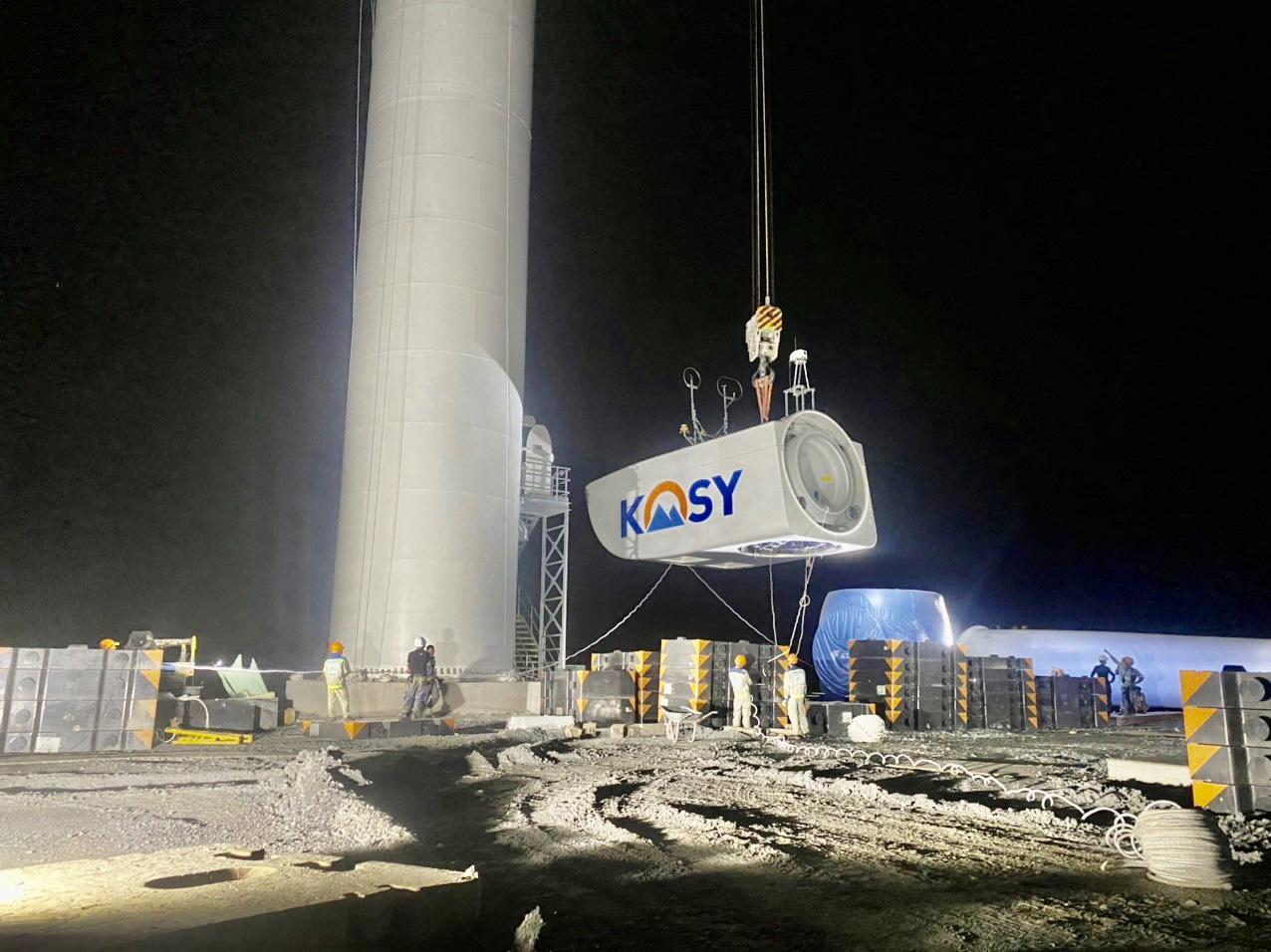 Nhà máy điện gió Kosy Bạc Liêu: Tăng tốc về đích, đảm bảo phòng chống dịch Covid-19 - Ảnh 5.
