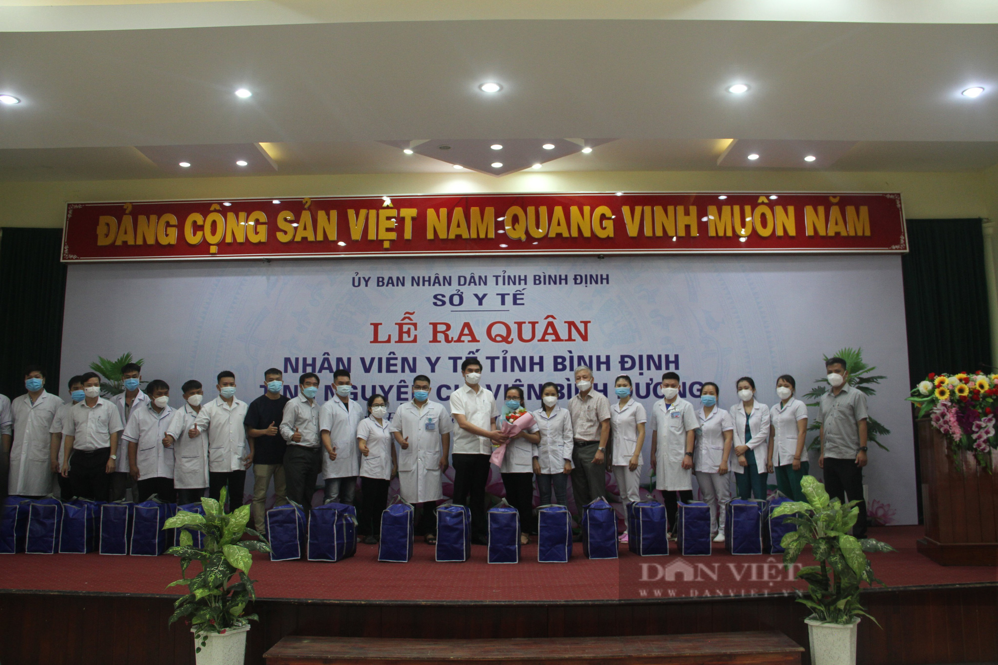 """Bác sĩ Bình Định vào Nam chống dịch: """"Đến khi nào TP.HCM, Bình Dương hết dịch mới về"""" - Ảnh 2."""