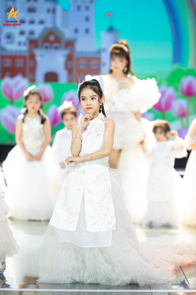Những gương mặt thiên thần nhí đáng yêu tại bán kết Angel Baby 2021 - Ảnh 5.