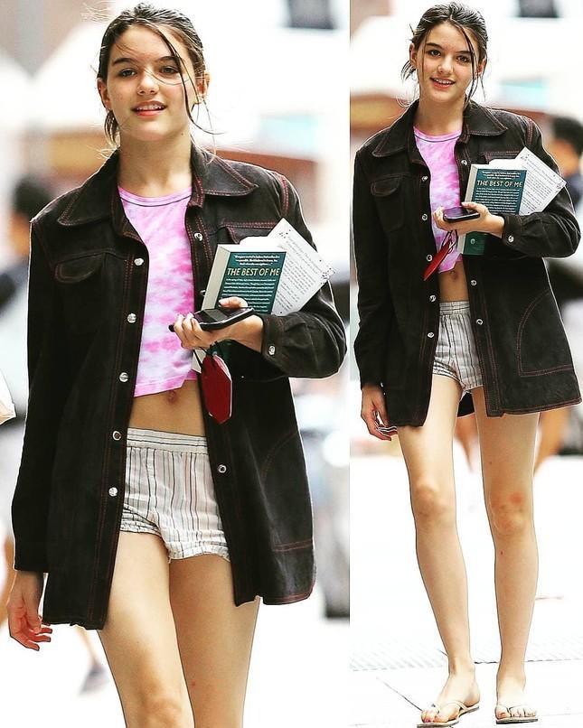 Con gái Tom Cruise xinh đẹp ở tuổi 15 - Ảnh 3.