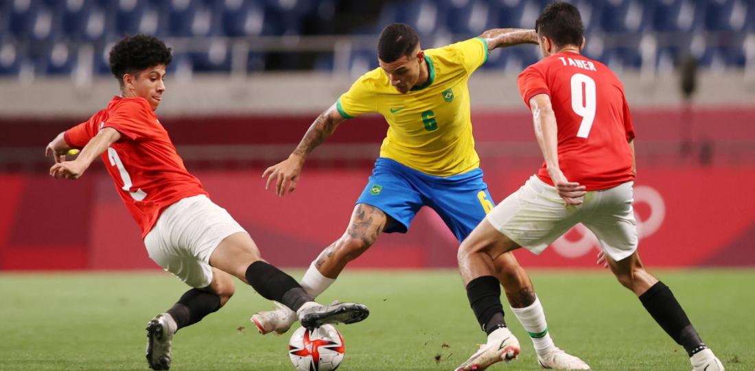 Kết quả bóng đá nam Olympic Tokyo 2020: ĐKVĐ Brazil nhẹ nhàng đi tiếp - Ảnh 1.