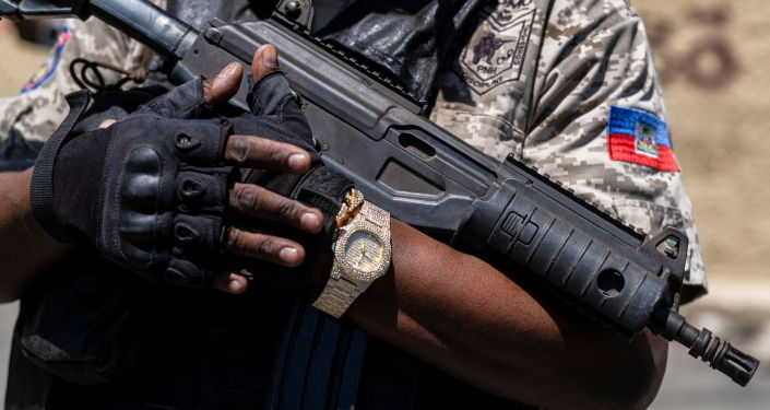 Haiti bắt giữ một sĩ quan cảnh sát khác do dính líu đến vụ sát hại tổng thống Moise - Ảnh 1.