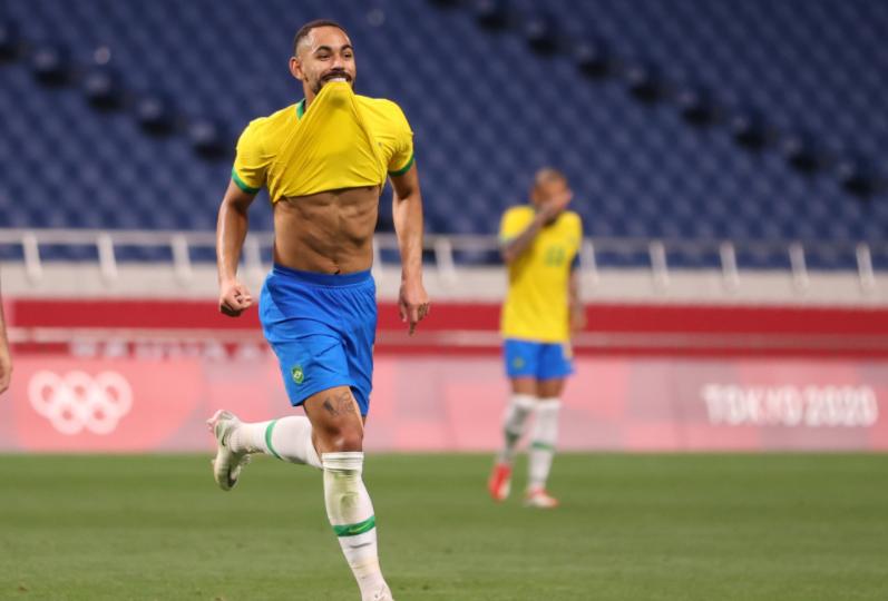 Kết quả bóng đá nam Olympic Tokyo 2020: ĐKVĐ Brazil nhẹ nhàng đi tiếp - Ảnh 2.