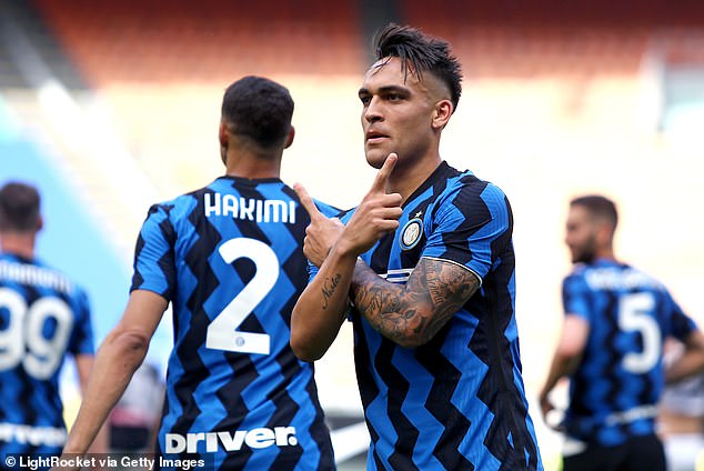 Martinez muốn ở lại Inter. Ảnh: Getty.