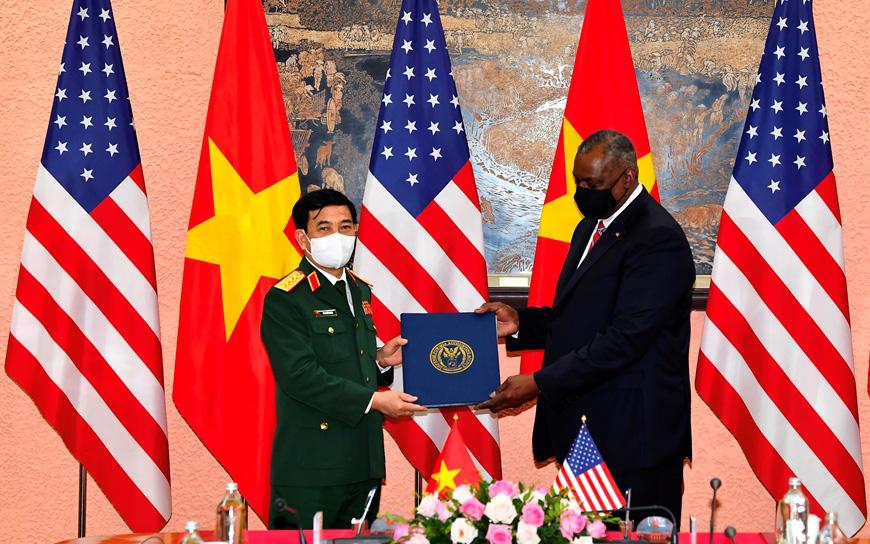 Bước tiến mới trong quan hệ Việt - Mỹ