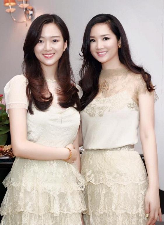 Những cô con gái xinh đẹp của các hoa hậu Việt - Ảnh 1.