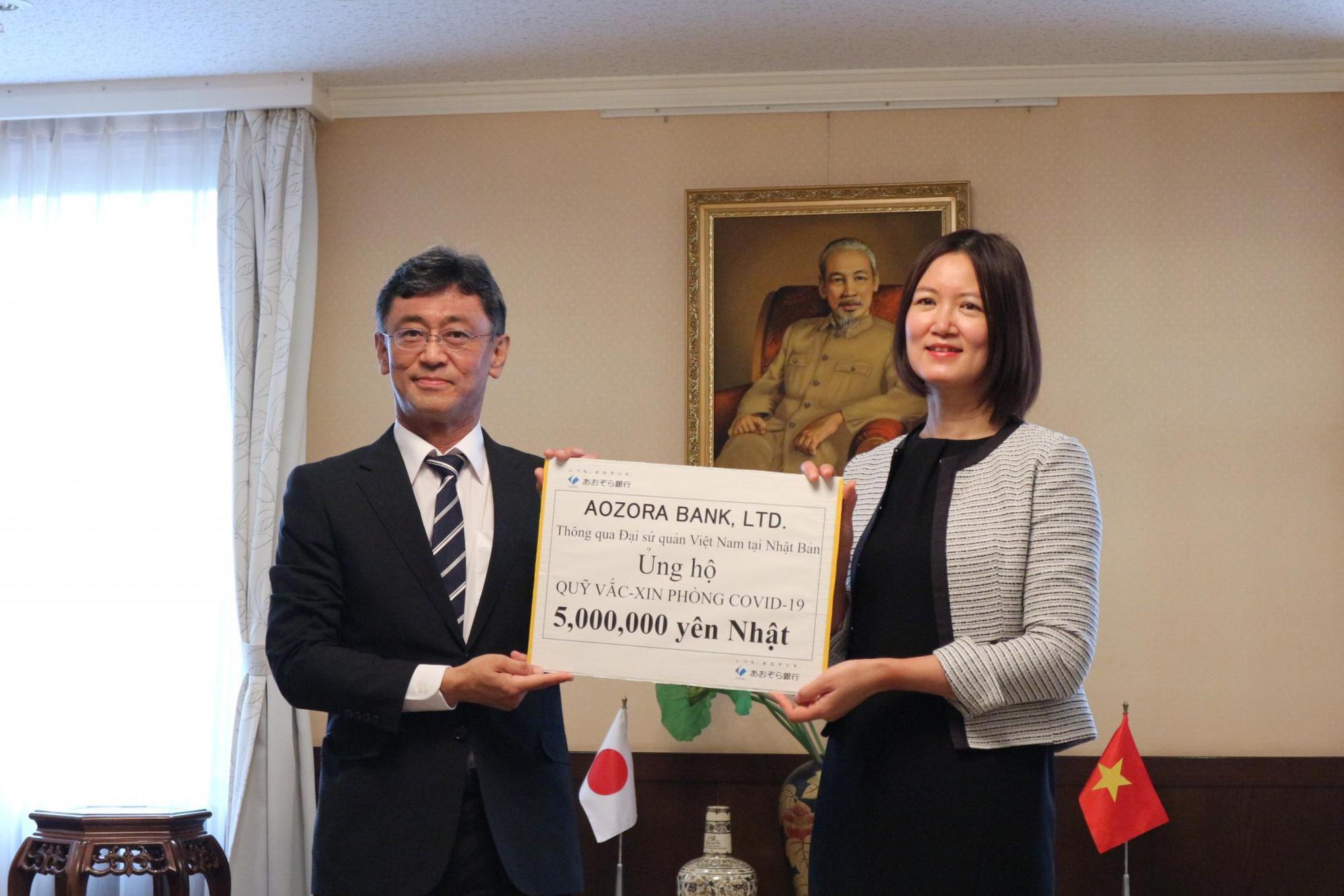 Ngân hàng Aozora Nhật bản ủng hộ Quỹ vaccine phòng Covid-19 của Việt Nam - Ảnh 1.
