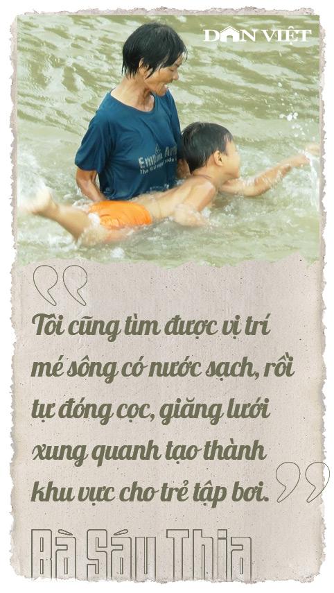 """19 năm dạy bơi miễn phí gần 4.000 trẻ ở miền Tây, bà Sáu Thia nói: Khi """"bánh xe ngừng lăn"""", tôi nghỉ dạy - Ảnh 5."""