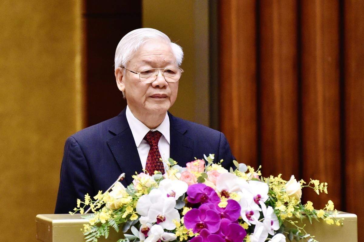 Tổng Bí thư Nguyễn Phú Trọng (ảnh VOV).