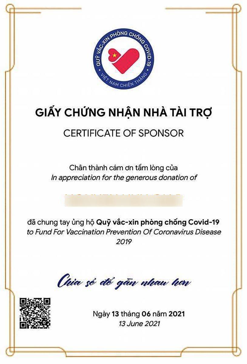 Chung tay góp Quỹ vaccine Covid-19 dễ dàng qua website vì một Việt Nam khoẻ mạnh - Ảnh 3.