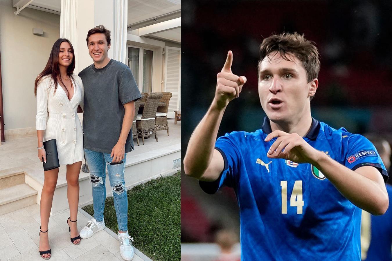 Euro 2020: Dàn WAGs của các tuyển thủ Italia khoe sắc vóc đẹp ngất ngây - Ảnh 3.