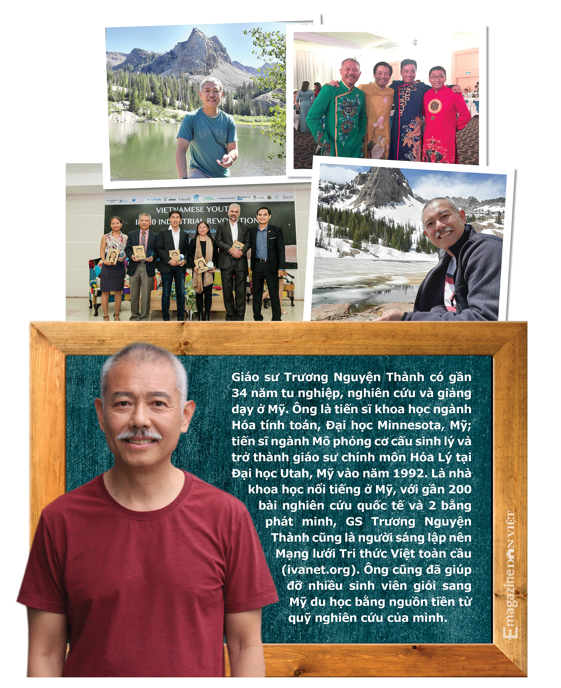 """Giáo sư """"quần đùi"""" Trương Nguyện Thành: """"Xóa học"""" để không đi theo lối mòn trong khoa học và tư duy - Ảnh 15."""