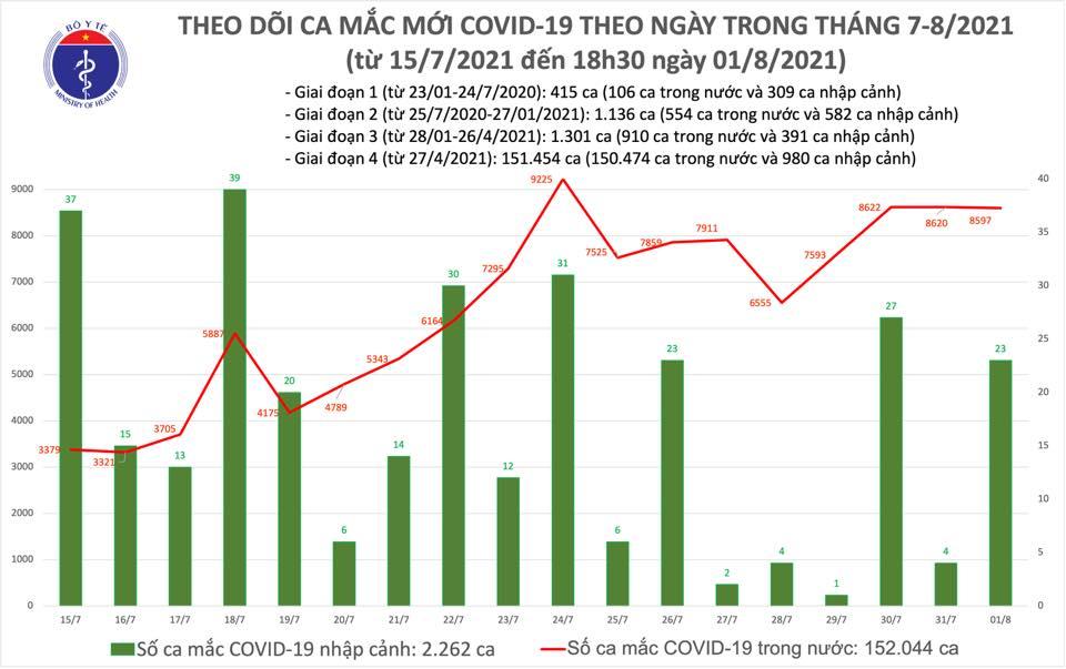 4.423 ca Covid-19 xuất viện, phân loại ca bệnh để điều trị phù hợp - Ảnh 1.