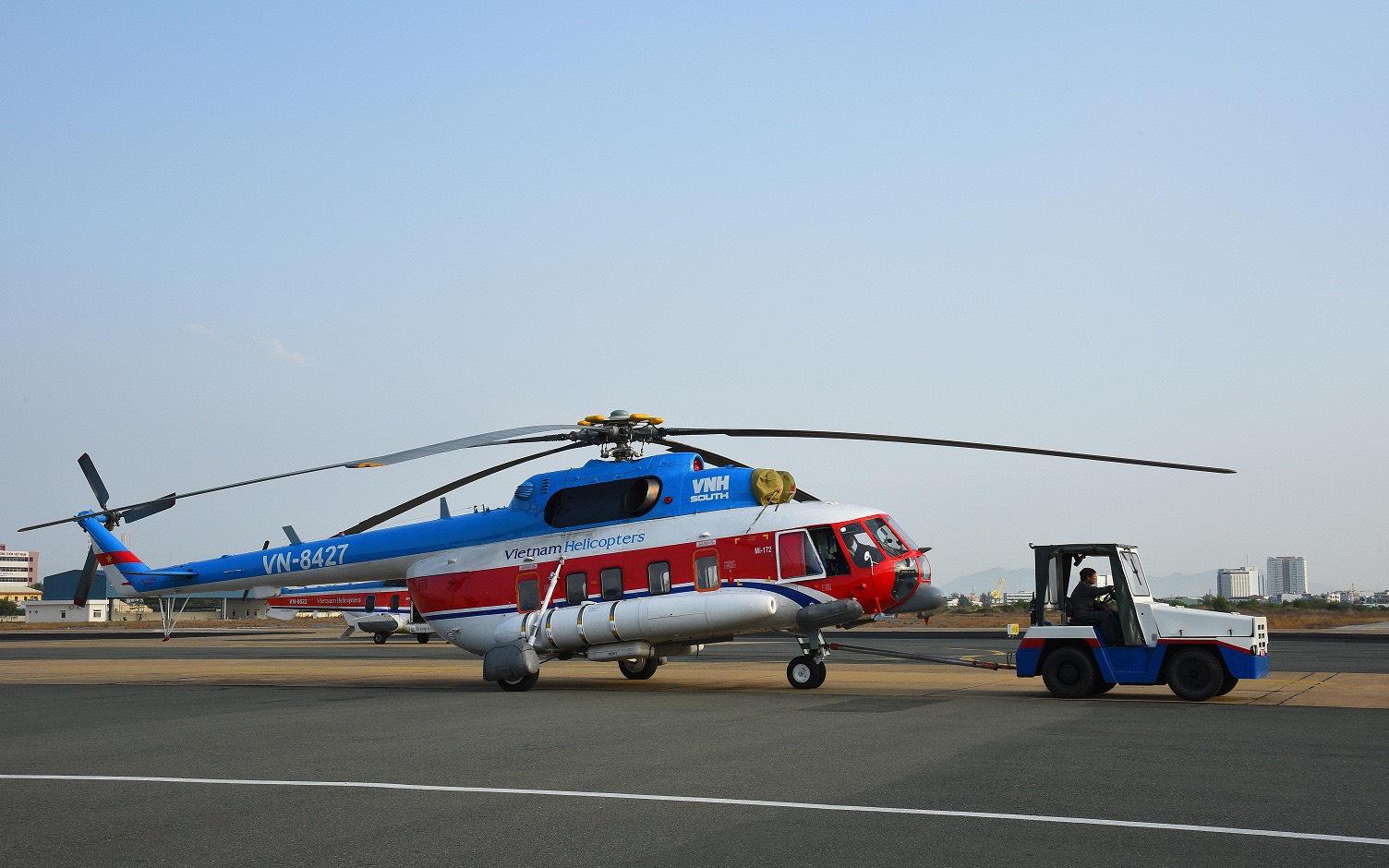 Bà Rịa-Vũng Tàu: Dùng trực thăng chở vaccine Covid-19 ra Côn Đảo