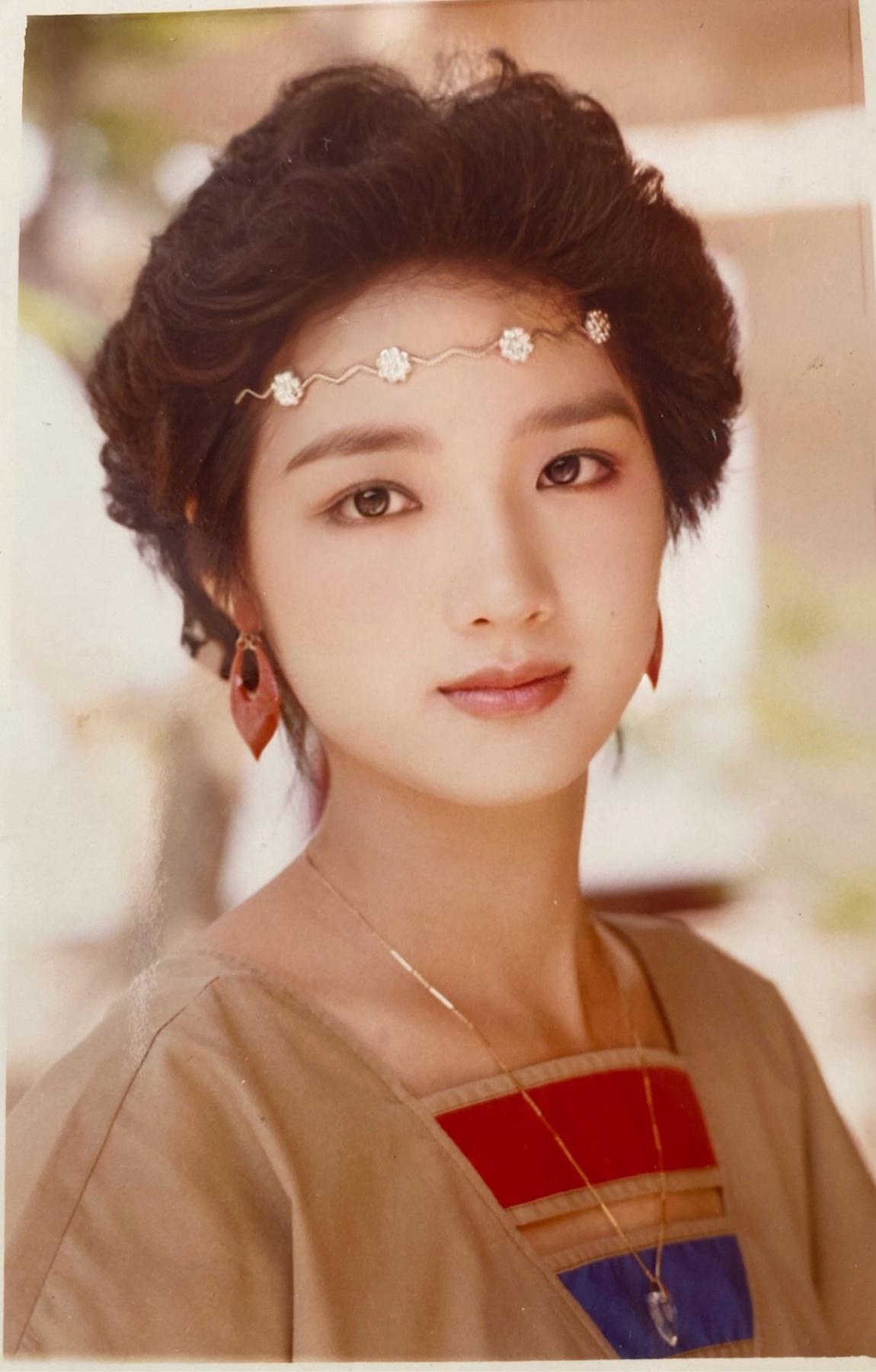 Nhan sắc vạn người mê của Hoa hậu Đền Hùng - Giáng My gần 30 năm trước - Ảnh 1.