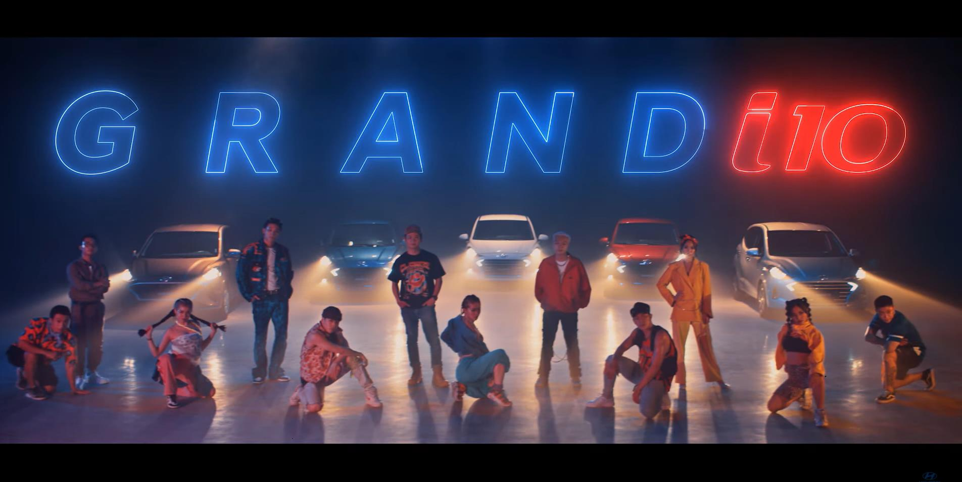 Hyundai Thành Công ra mắt Grand i10 bằng một bài rap - Ảnh 1.