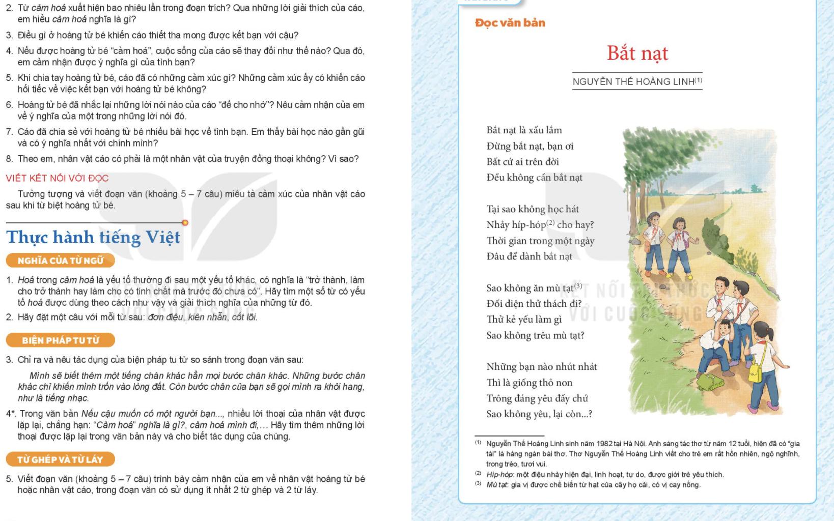"""Bài thơ trong SGK Ngữ văn lớp 6 chương trình mới bị chê """"không xứng"""": Tác giả, giáo viên nói gì?"""