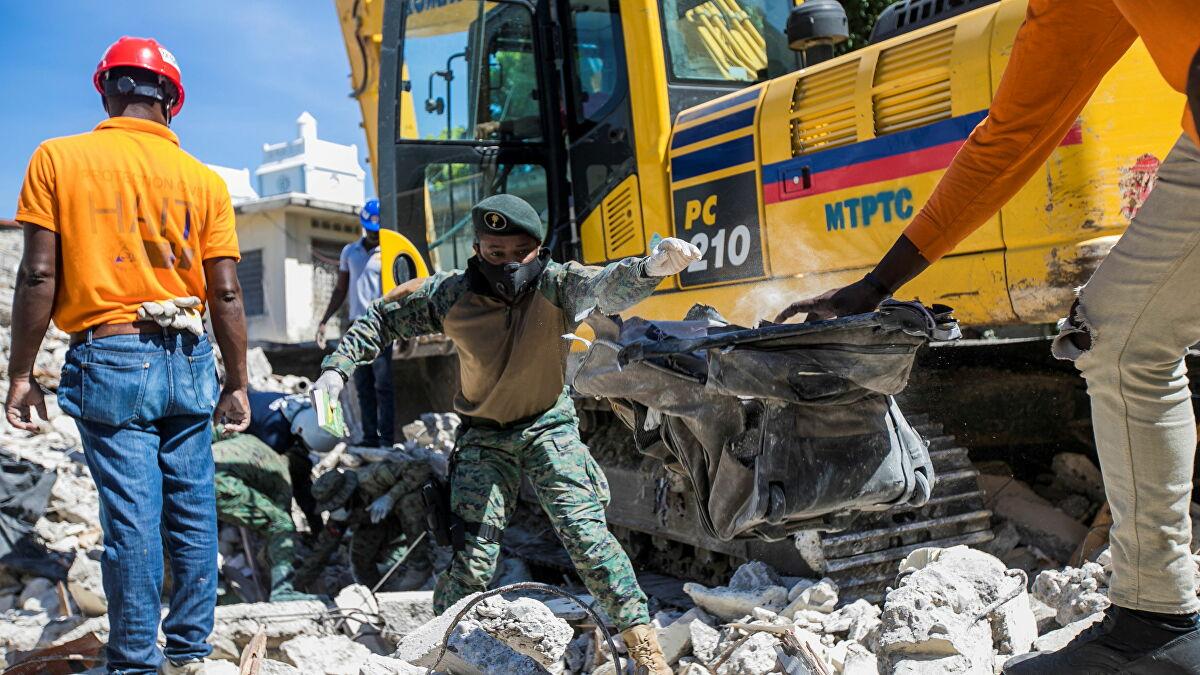 Gần 1.300 người chết, 5.800 người bị thương sau trận động đất kinh hoàng ở Haiti - Ảnh 1.